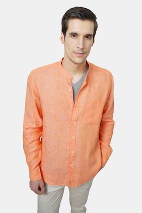BASICS Men Slim Fit Casual shirt - Orange