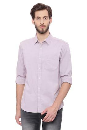 BASICS Men Slim Fit Casual shirt - Pink