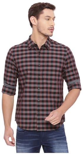BASICS Men Slim Fit Casual shirt - Multi