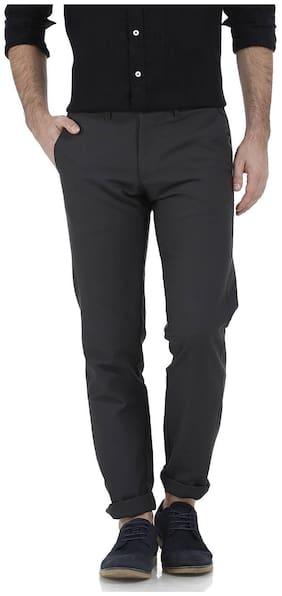 Basics Tapered Fit Castle Rock Cotton Trouser