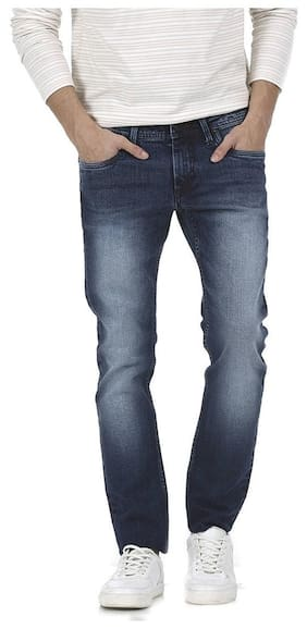 Men Relaxed Fit Mid Rise Jeans