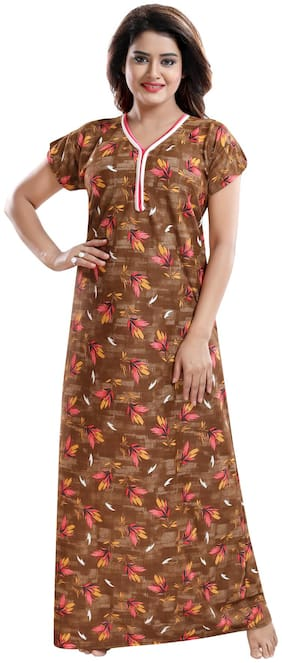 Be You Brown Night Gown