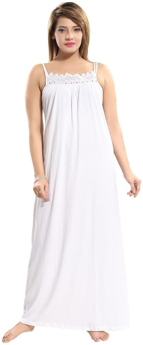 Be You White Night Gown
