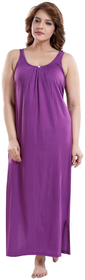 Be You Purple Night Gown