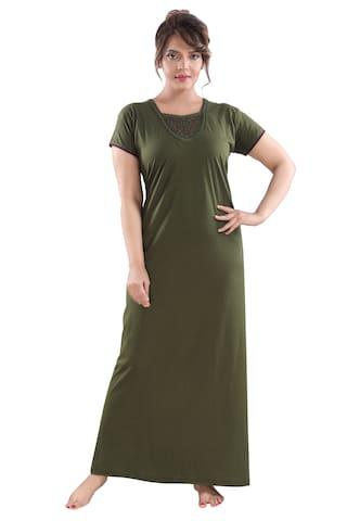 Be You Green Night Gown