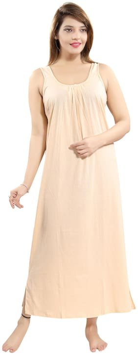 Be You Beige Night Gown