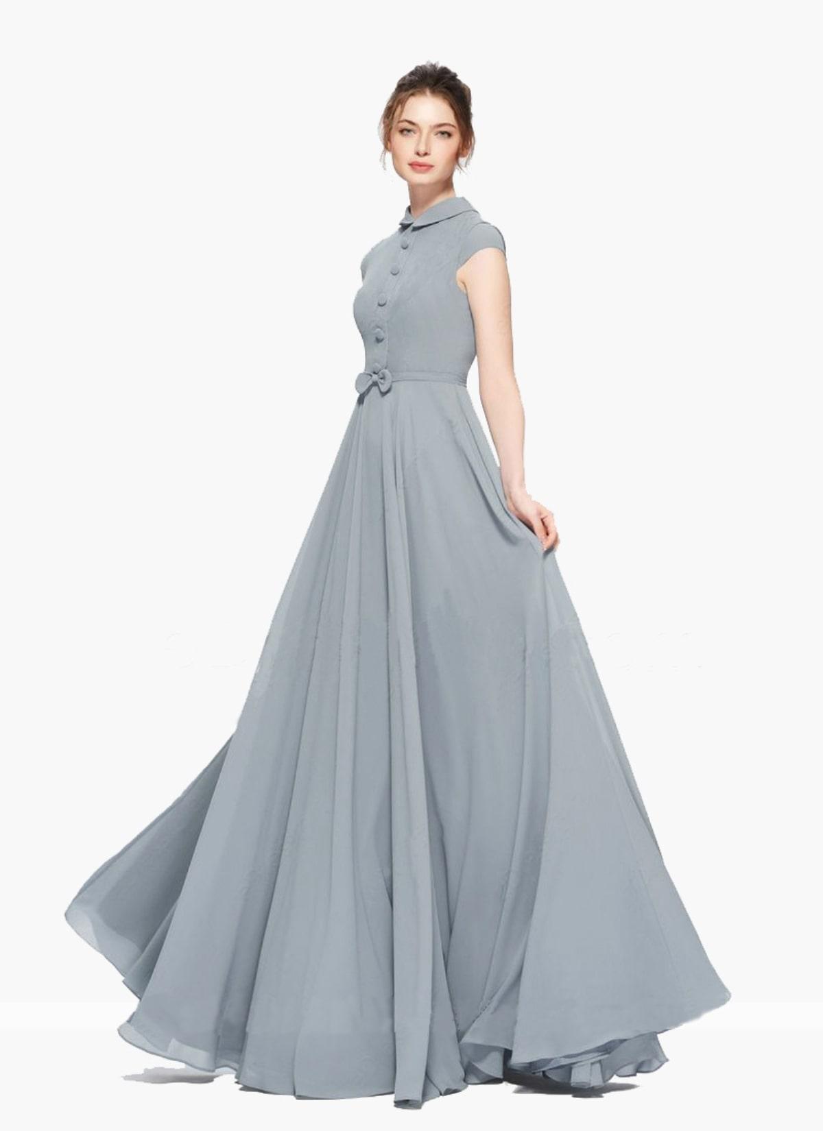 Grey Party Dresses