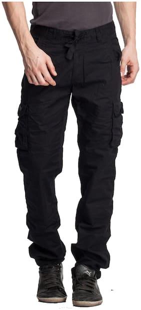 Men Regular Fit Cargos Pack Of 1