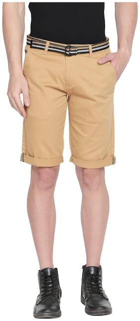 Men Solid Regular Shorts Pack Of 1