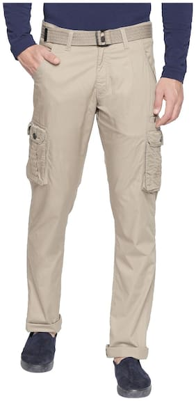 Men Regular Fit Cargos