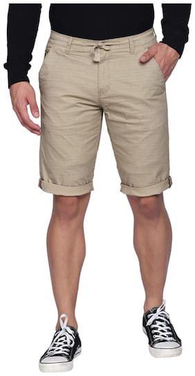 Men  Geometric Regular Shorts
