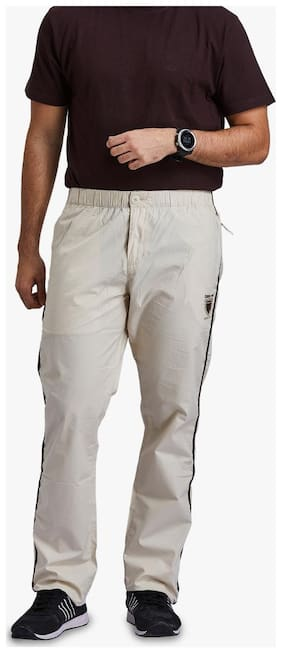 Regular Fit Cotton Blend Track Pants Pack Of 1