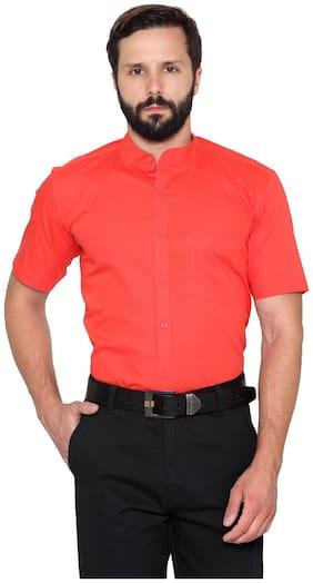 Being Fab Men Regular Fit Casual shirt - Orange