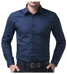 Being Fab Men Regular Fit Casual shirt - Blue