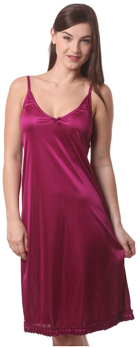 Being Fab Pink Satin Nighties 3238062ae