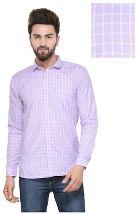 Being Fab Men Slim Fit Casual shirt - Pink