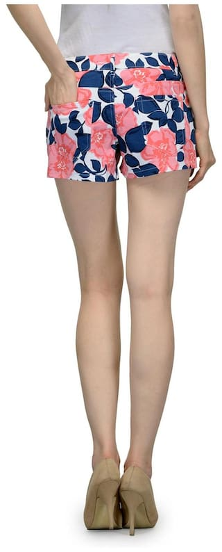 Being Women's Fab Being Fab Women's Hotpants Multicolor Multicolor zqwFT6EXxX