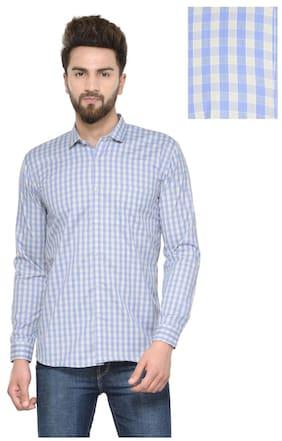 Being Fab Men Slim Fit Casual shirt - Blue