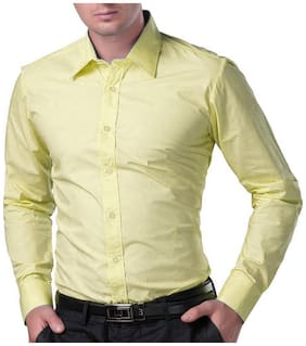 Men Regular Fit Solid Casual Shirt ,Pack Of Pack Of 1