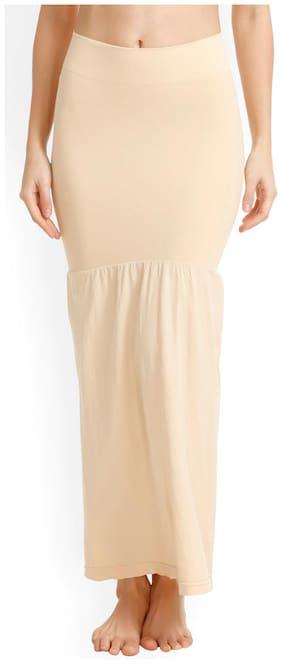 Benison India Women Spandex Saree shapewear - Beige