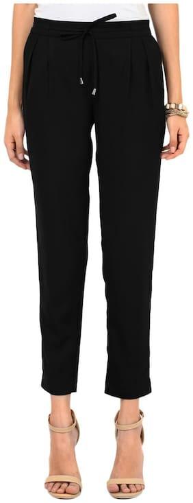 Besiva High Waist , Solid Trouser