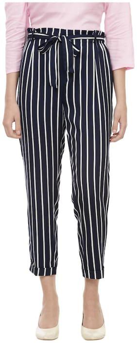 Besiva Women Multi Regular fit Regular trousers