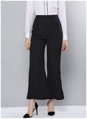 BESIVA Women Black Regular fit Regular pants
