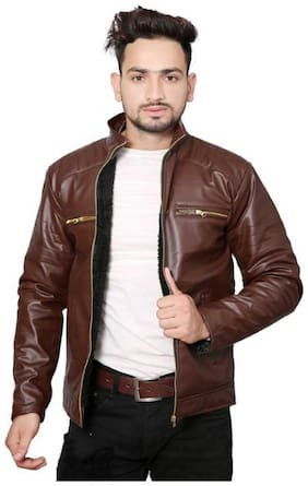 Best Friends Forever High quality Leather look Jackets for Men's