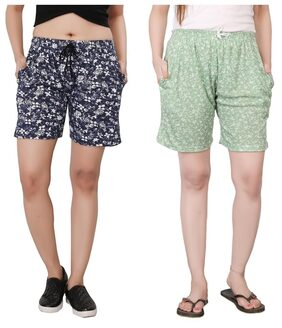 Bfly Women's Printed Shorts Combo