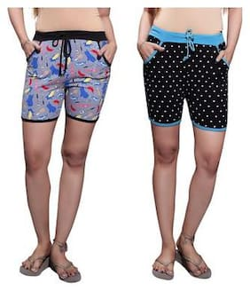 Bfly Women Geometric Regular shorts - Multi