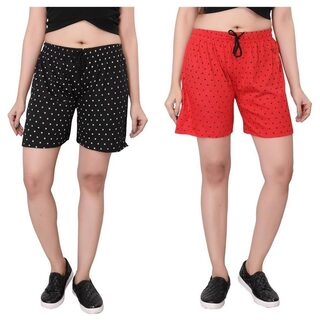 Bfly Women Solid Shorts - Black