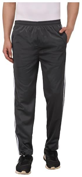 Billu Oye Men Polyester Blend Track Pants - Grey