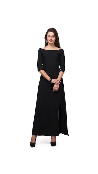 Black Dress Black Dress Maxi Maxi pqF0xCEw