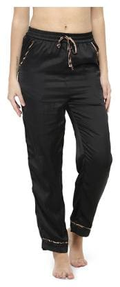 Black Nightwear Pants