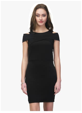 3bba6f1386bfc Buy Black Sheath Dress Online at Low Prices in India - Paytmmall.com
