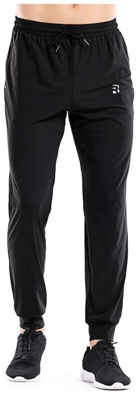 Regular Fit Spandex Track Pants Pack Of 1