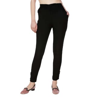 amp; COM2 BLK SKIN 2 Women Blugee For Black XXL Skin Lam Lam Pant Palazzo Of Pack 4x5wqx7