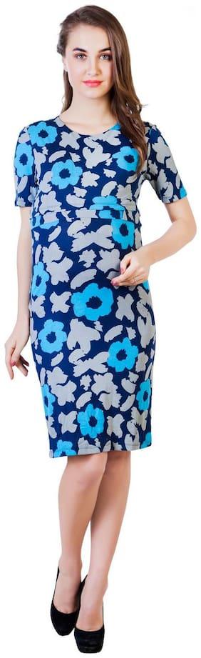 Blush 9 Maternity Double Layer Maternity and Nursing Dress