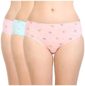 Cotton Floral Pack of 3