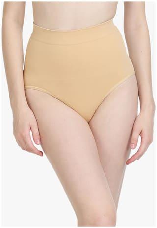 Bodycare Women Cotton Tummy tucker panty - Beige