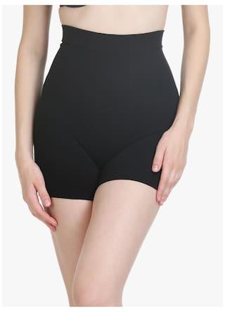 51799c4bd2931 Buy Body Care Women Cotton Tummy Tucker Panty - Black Online at Low ...