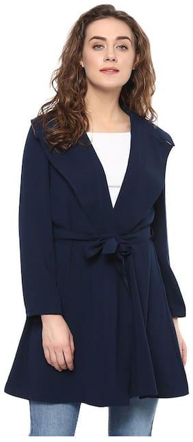 BOHOBI Women Printed Bolero jacket - Blue