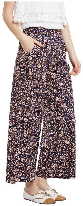 Pants Women's Print Floral Harem Rayon Bohobi dgXRwqR