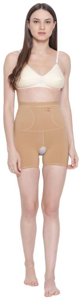 Boldwink Women Polyester Corset - Beige