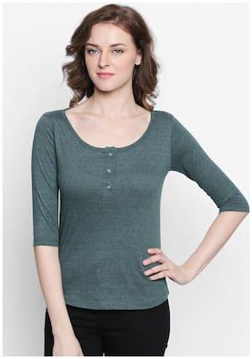 Women 3/4th Sleeves T Shirt