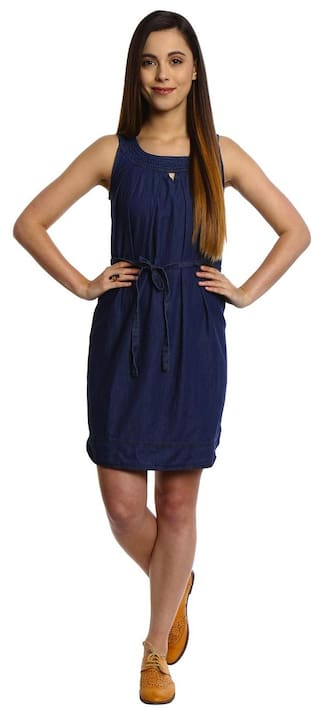 High Dresses Bombay Denim Dresses Blue Bombay Dresses High Bombay High Blue Denim Denim Blue Bombay q6fA6P