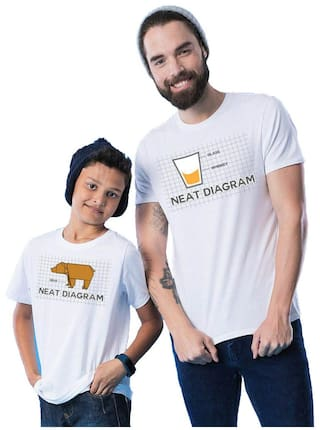 48488035 BonOrganik White Neat Diagram Father Son Best Family Matching Father and Son  Tees-Dad and