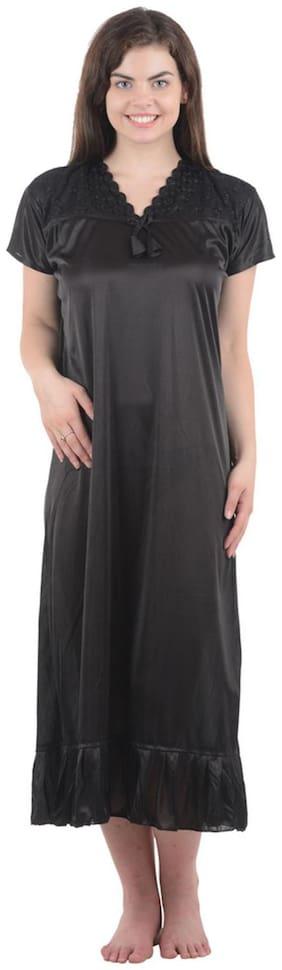Boosah Black Night Gown
