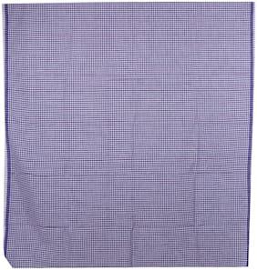 BOVZEN Cotton Checked Regular dhoti Dhoti - Blue
