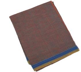 BOVZEN Cotton Solid Regular dhoti Dhoti - Brown
